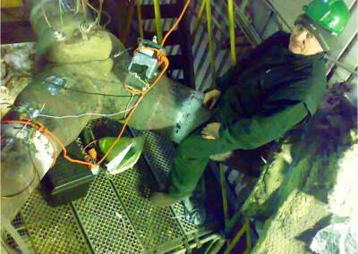 Badanie degradacji w przewodach pary z wykorzystaniem emisji magnetoakustycznej (Polska)