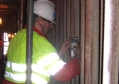 Badanie degradacji rur przegrzewacza z wykorzystaniem prądów wirowych (Anglia)